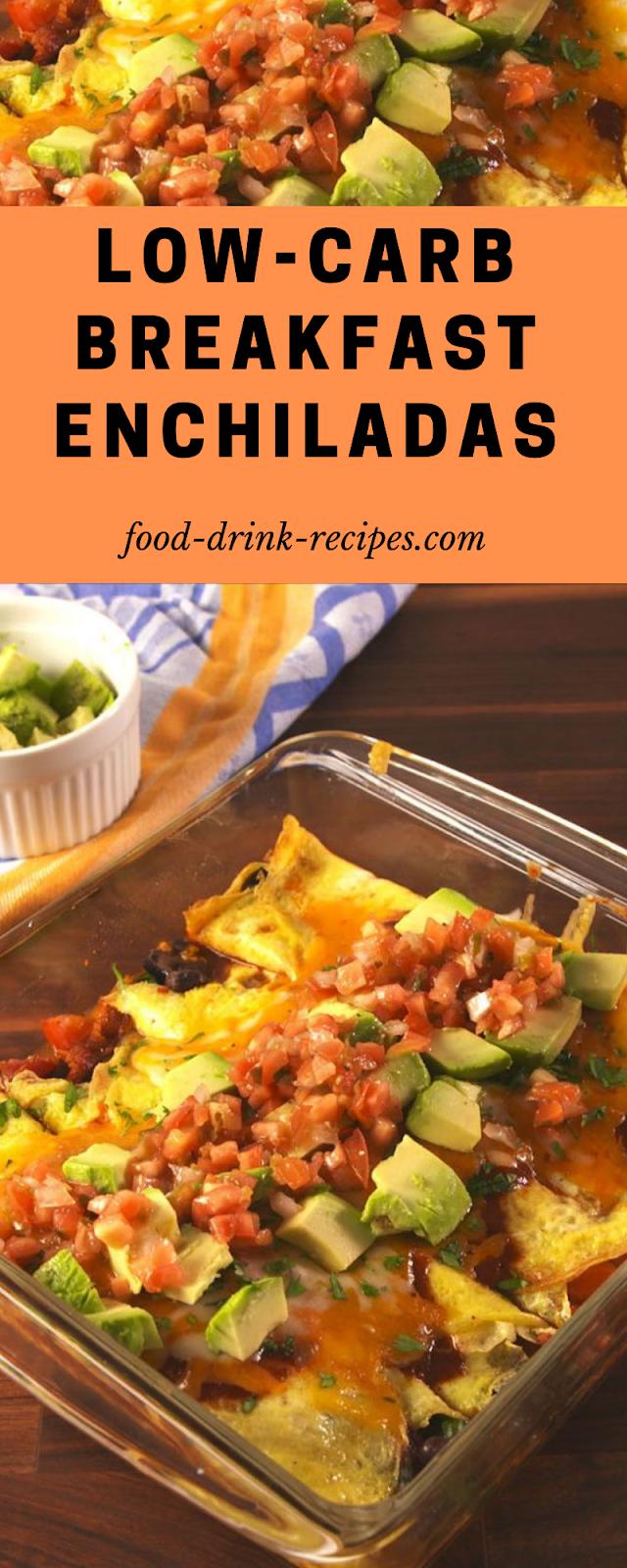 Low-Carb Breakfast Enchiladas - food-drink-recipes.com