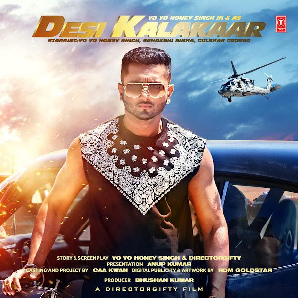 Yo Yo Honey Singh - Desi Kalakaar (Original Motion Picture Soundtrack) Cover