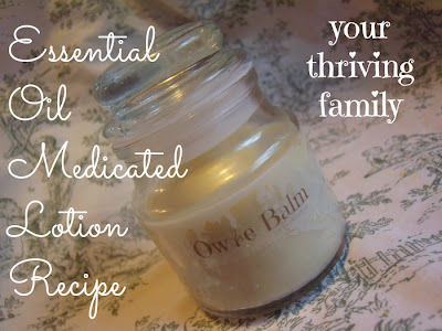 Owie Balm Recipe {Essential Oil Hard Lotion}