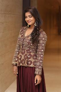 Aishwarya Rajesh stills At World Famous Lover Pre Release