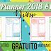 Planner 2018 #1: Diário (gratuito para download)