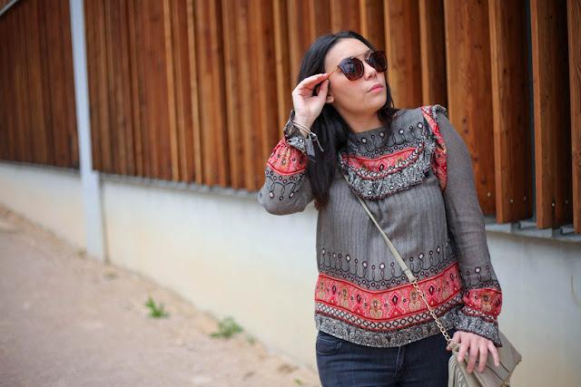 photo blouse bohème