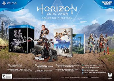 Horizon Zero Dawn Game Collector's Edition