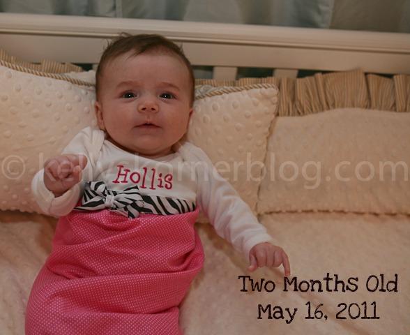 6d549582ee8b Kelly s Korner  Hollis is Two Months Old!