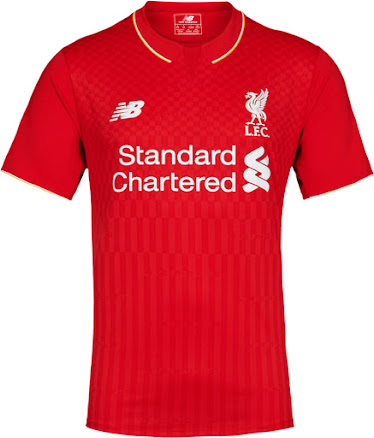 buy cheap 60530 d45bd New Balance Liverpool 15-16 Kits Released - Footy Headlines