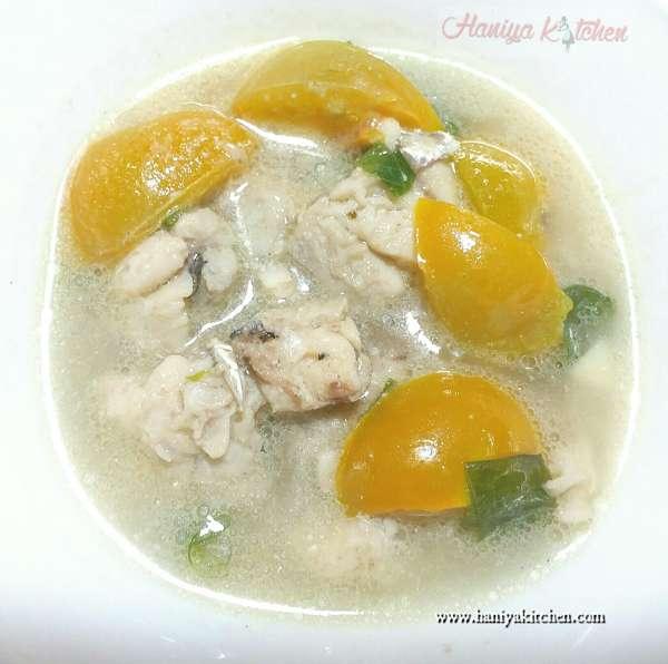 Resep Sup Ikan Tengiri Sederhana