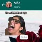 Mamãe só tava compartilhando meme