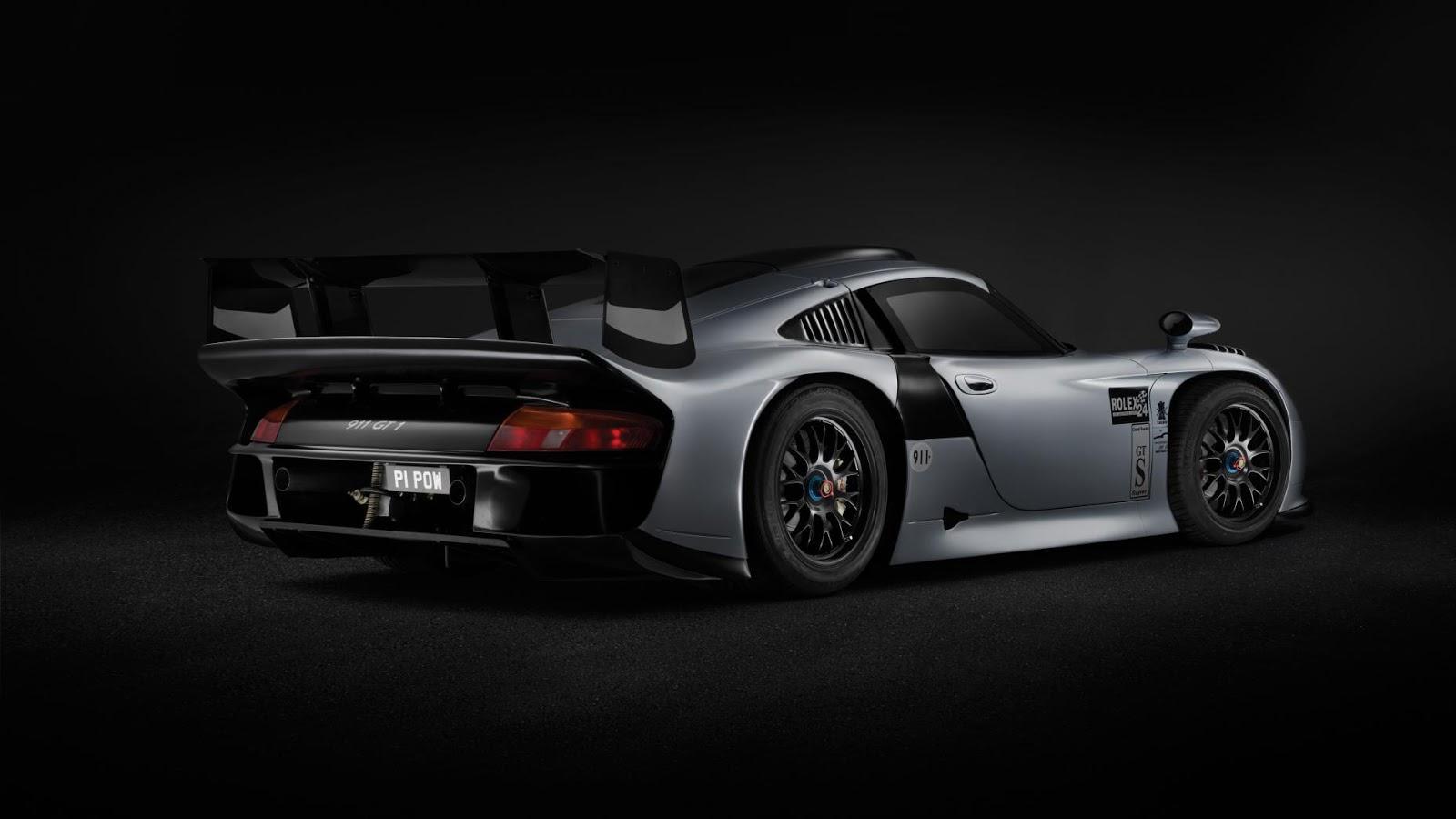 Phong cách và sự cân xứng làm nên sức mạnh của Porsche GT1 Evolution