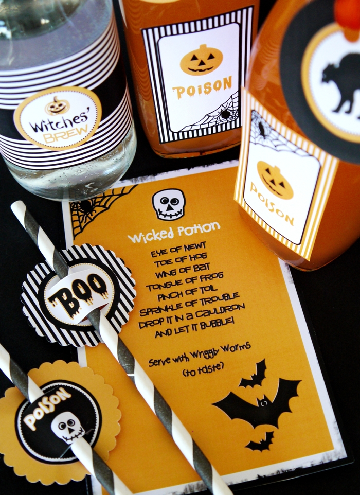 Halloween Party Printables - BirdsParty.com