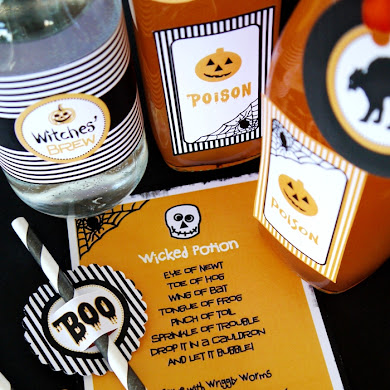 Halloween Party Printables & SALE