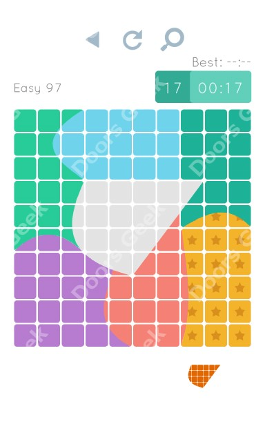 Cheats, Walkthrough for Blocks and Shapes Level 97