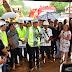 Wilson Lima assina ordem de serviço para recuperar estrada, inspeciona obras e reinaugura terminal turístico fluvial, na RMM