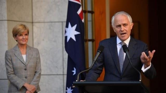 Australia appoints Julie Bishop as acting prime minister amid citizenship crisis