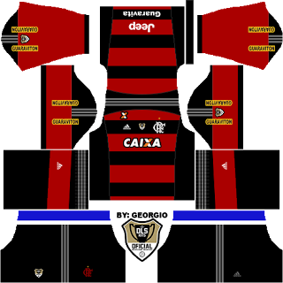 Download kit de uniforme flamengo dream league soccer 16 em4games