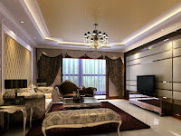 New home designs latest.: Luxury homes interior decoration living room designs ideas.