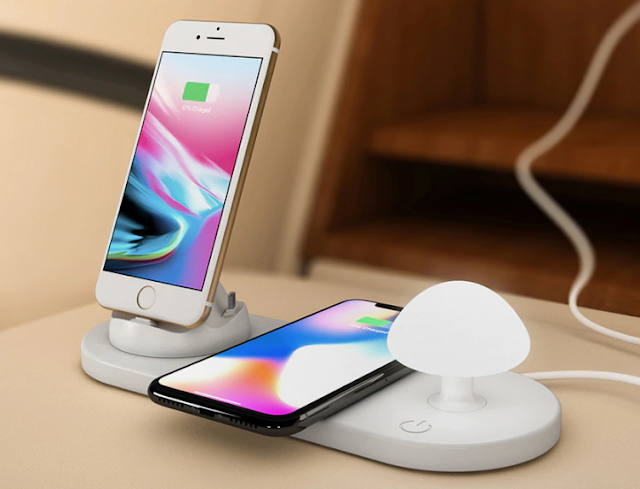 Gearbest Utorch B06 Wireless Fast Charging USB Touch Night Light
