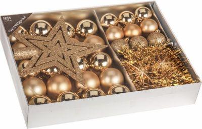 Gouden Kerstversiering Kerstboom Wonen 2019