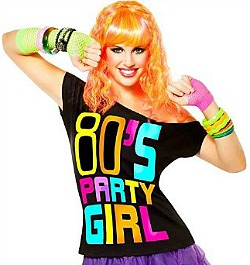 CREATE AN 80s PARTY GIRL COSTUME