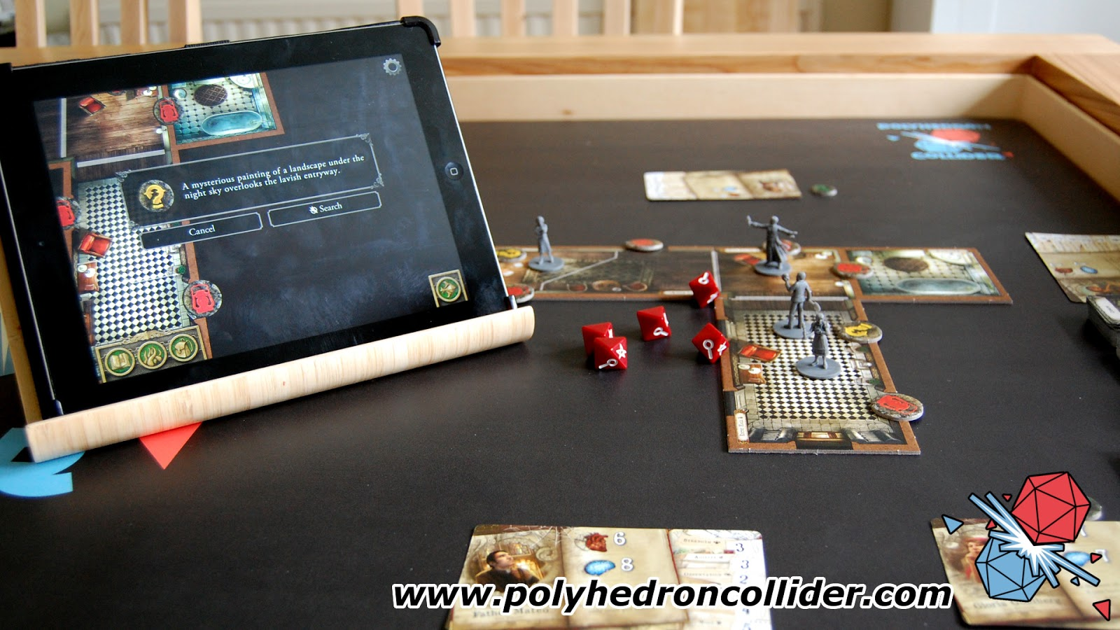 mansions of madness app board game