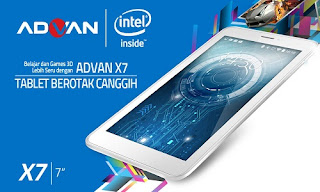 Firmware Advan X7 dan X7+