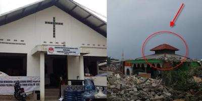 Ahok Hancurkan Masjid Apung di Pasar Ikan tetapi Biarkan Gereja di Pulo Mas