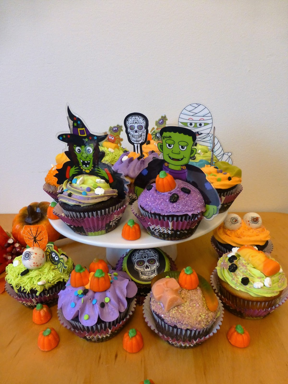 Cakesophia Halloween Cupcakes
