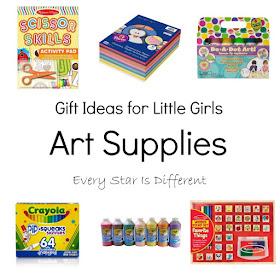 Gift Ideas for Little Girls: Art Supplies