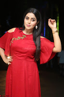 Poorna in Maroon Dress at Rakshasi movie Press meet Cute Pics ~  Exclusive 14.JPG