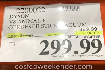 Deal for the Dyson V8 Animal+ Vacuum at Costco