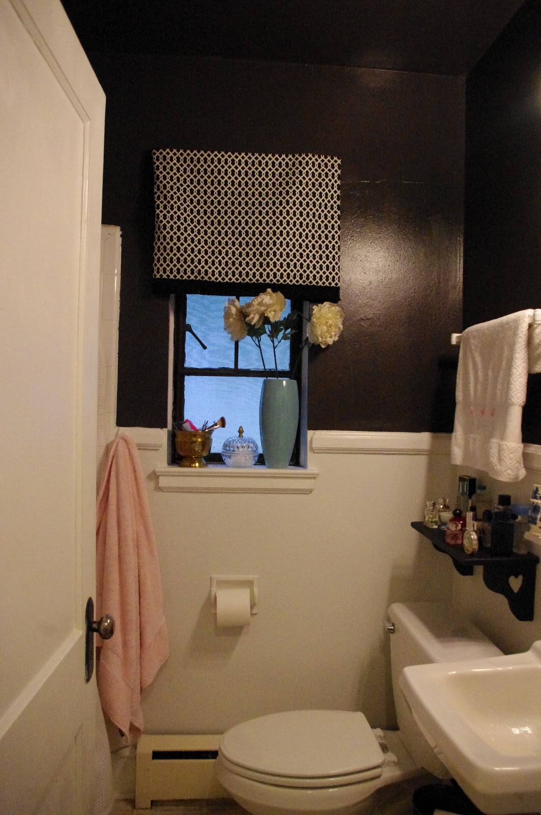 THE FINDS BLOG: Before and After: Two-Tone Bathroom Take 2