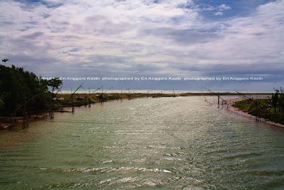 View arah pantai dari Cipatujah.