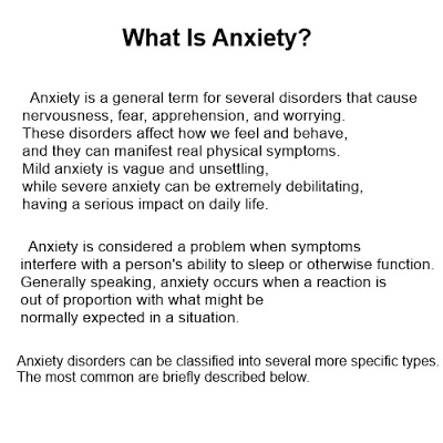 when can anxiety occur