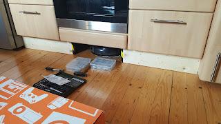 Einbau unter Küchenzeile