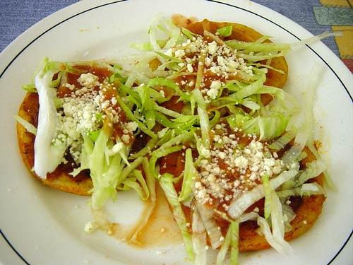 Gastronoma de Mxico y la cocina molecular Los antojitos mexicanos