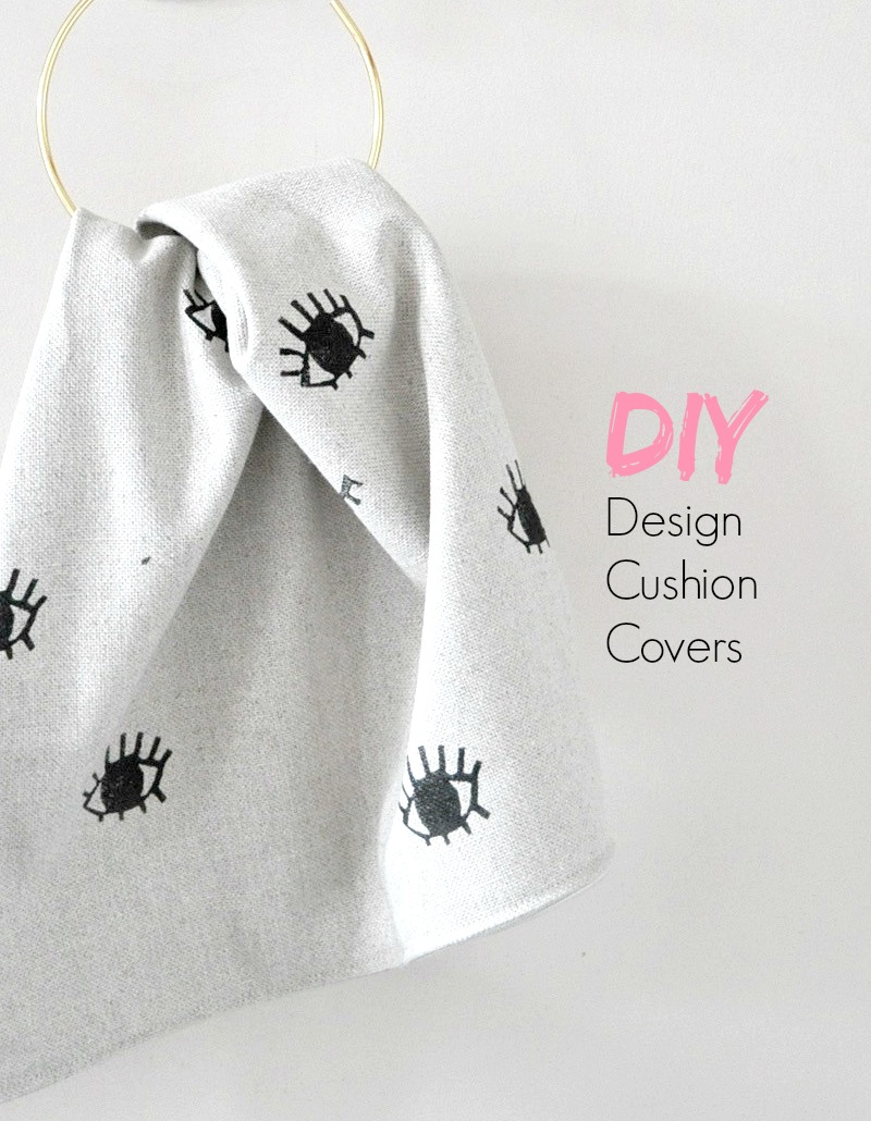 How to Print your own cushion covers