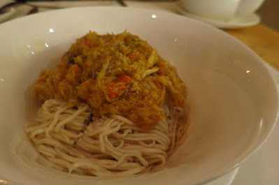 Liu Yuan Pavilion, hairy crab noodles