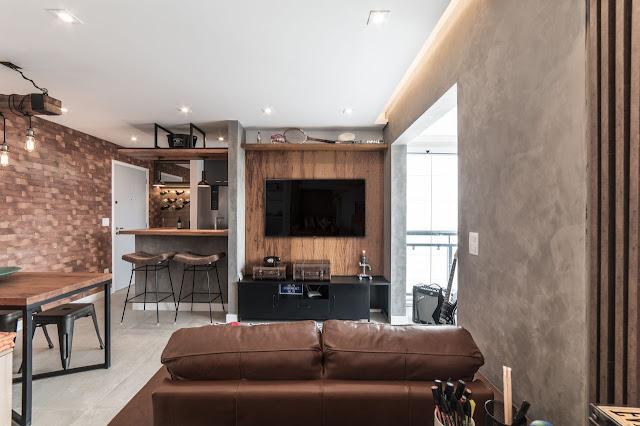 apartamento-decoração-industrial