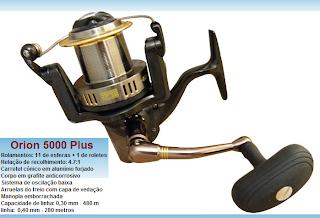 Foto de molinetes long cast exclusivo para pesca de praia