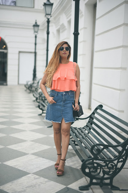 how to style denim skirt, denim embroidered skirt online, femella, ruffle top, summer fashion 2017, delhi fashion blogger, carerra sunglasses, bright summer outfit, how to style wedges, redtape, zaful, beauty , fashion,beauty and fashion,beauty blog, fashion blog , indian beauty blog,indian fashion blog, beauty and fashion blog, indian beauty and fashion blog, indian bloggers, indian beauty bloggers, indian fashion bloggers,indian bloggers online, top 10 indian bloggers, top indian bloggers,top 10 fashion bloggers, indian bloggers on blogspot,home remedies, how to