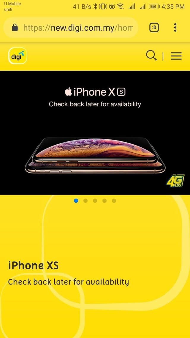 iPhone XS is coming soon on Celcom and Digi