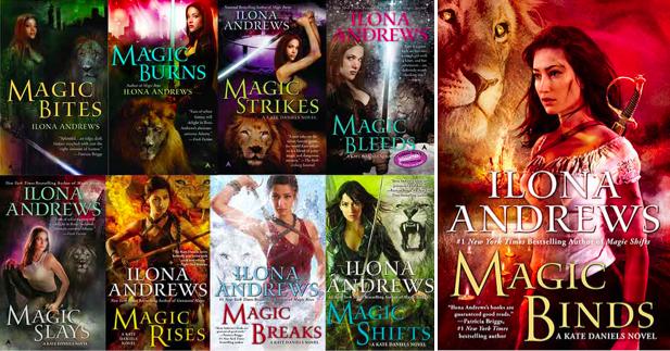 Alpha Reader Magic Binds Kate Daniels 9 By Ilona Andrews