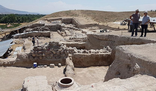 Hellenistic temple unearthed in central Turkey