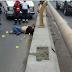 Arrojan hombre y lo matan a balazos frente al congreso, en Xalapa