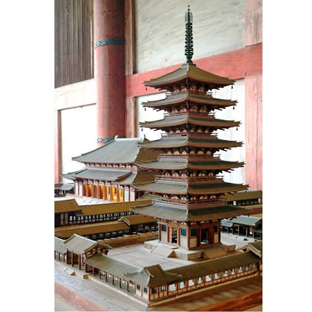 Rare corridor structure found at pagoda site of Japan's Todaiji temple