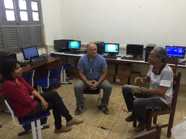 NTE Ananin em Festa pelo Novo Laboratório de Informática da Escola Bom Pastor