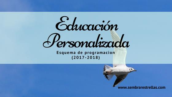 Los programas educativos personalizados siguen los intereses de los niños, sus necesidades, capacidades y conocimientos previos, con lo cual el ritmo de avance no es lineal.  Nuevo programa curricular