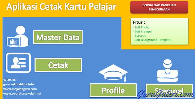 Aplikasi Cetak Kartu Pelajar Gratis