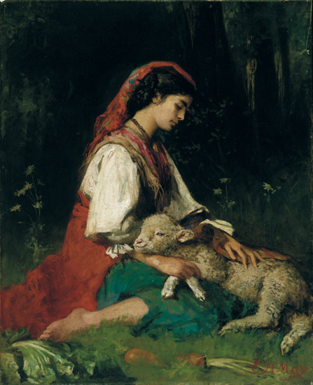 The Shulamite shepherdess doesn't know her lover's true identity initially.