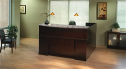 Sorrento Reception Desk by Mayline