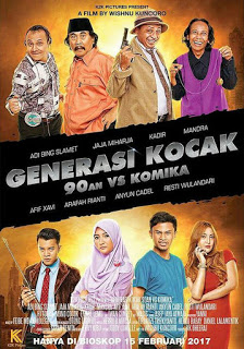 Generasi Kocak: 90an VS Komika 2017 DVDRip